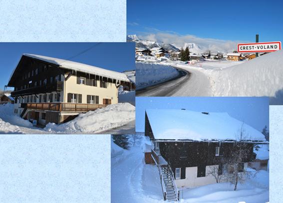 Chalet la grande ourse crest voland savoie - Office de tourisme crest voland ...